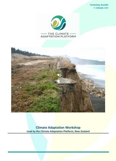 Climate Adaptation Washington Workshop Booklet cover