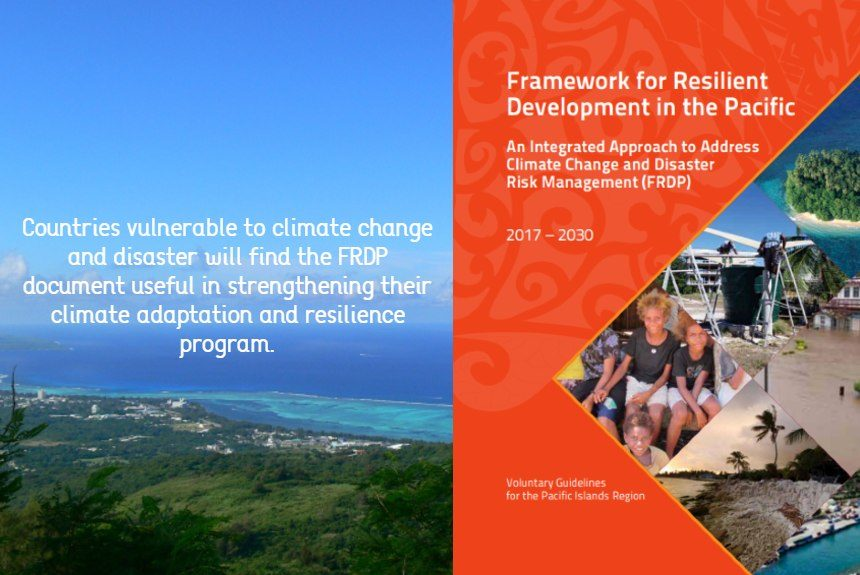 climate change adaptation and resilience pacific islands